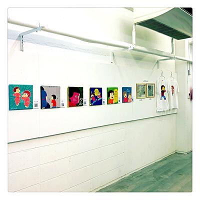 2018年個展画像